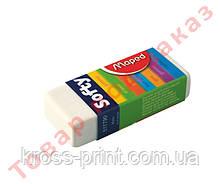 Ластик SOFTY в картонном держателе MP.511790