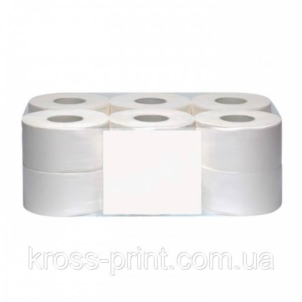 Туалетная бумага белая 2слоя 90м /12рул упаковка/ Fesko Jumbo