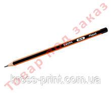 Олівець графітовий BLACK PEPS, 2B, без гумки MP.850022