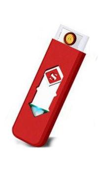 Электрическая спиральная USB зажигалка Superman 158 Белый
