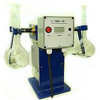 Пристрій для визначення стійкості бітумної емульсії УВЖ-1Ф
