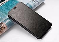 Кожаный чехол книжка MOFI для Lenovo Vibe P1 чёрный