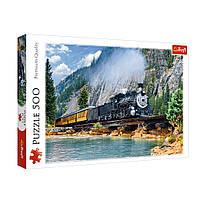 """Пазл """"Гірський поїзд"""", 500 елементів Trefl (5900511373790)"""