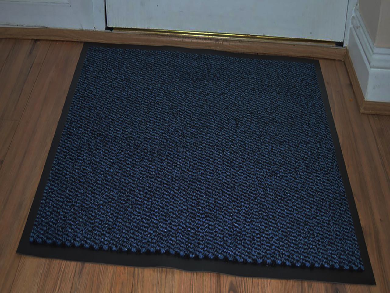 Ковер грязезащитный Стандарт 90х90см. синий