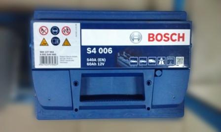 Аккумулятор Bosch 60 Ah-12V S4006, 5237437149