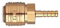 Быстросъемное соединение (мама) под шланг вн.диаметр 9-10мм