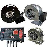 Автоматика Polster c11 для твердотопливного котла + вентилятор, фото 1