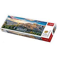 """Пазл """"Вид на Акрополь, Афіни, Греція"""", 500 елементів Trefl Panorama (5900511295030)"""