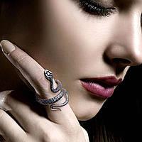 Кольцо змея Стильное украшение Аксессуар к карнавальному костюму на Хэллоуин