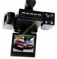 Видеорегистратор автомобильный 2 камеры CAR DVR H3000     . f