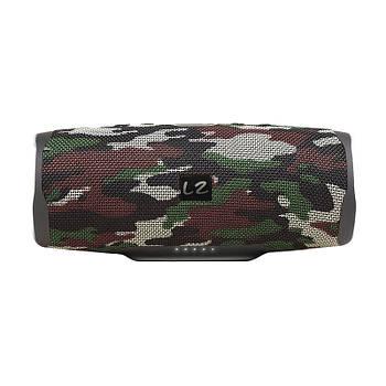 Колонка BL JBL Charge 3 Camouflage радио карта памяти microSD USB порт функция Bluetooth защита от брызг
