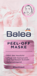 Balea Maske Peel-Off 2 x 8 ml Маска-пленка Глубокое очищение 16 мл
