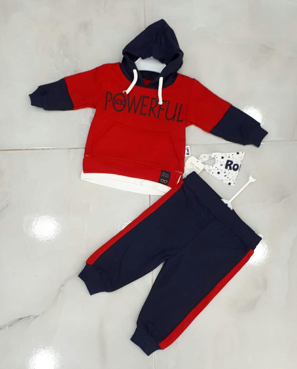 Дитячий костюм 9-24 міс для хлопчиків оптом Туреччина
