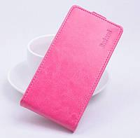 Чохол для фліп Lenovo Vibe P1 рожевий, фото 1
