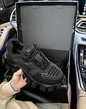 Жіночі кросівки Prada CoudBust (black), жіночі кросівки Прада, фото 7