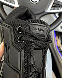 Жіночі кросівки Prada CoudBust (black), жіночі кросівки Прада, фото 8