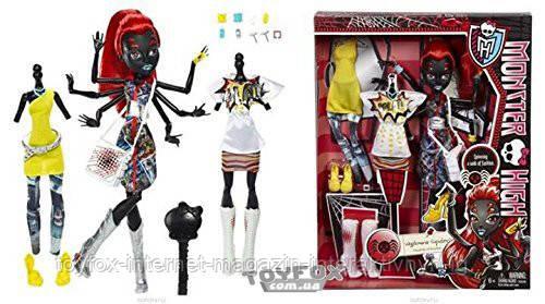 Кукла Монстер Хай Вайдона Спайдер Вебарелла Серия: Я люблю моду - ToyFox - Интернет-магазин интерактивных игрушек  в Киеве