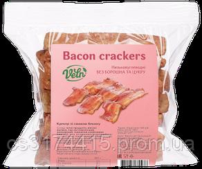 Крекеры низкокалорийные  VELN™ со вкусом Бекона (100 грамм)