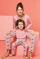 Одинаковые пижамы для мамы и дочки, фото 1