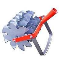 Рыхлитель для грядок (культиватор дисковый) 5 ножей, фото 1