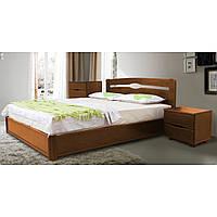 Кровать Каролина с подъемным механизмом 140 х 200 см (орех светлый)