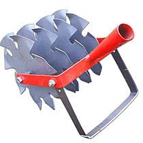 Пропольник огородний ручной (дисковый культиватор) на 4 звездочных ножа