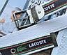 Мужской тканевый ремень Lacoste белый, фото 2