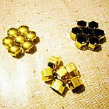 Защитные колпачки на колесные гайки 17 мм золото, фото 5