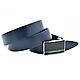 Мужской кожаный ремень Weatro Синий nwm-35zjk-0014, фото 2