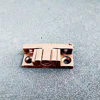 Фиксатор ТЕРМОПЛАСТ для дверной москитной сетки из профиля 10*20 мм (коричневый)