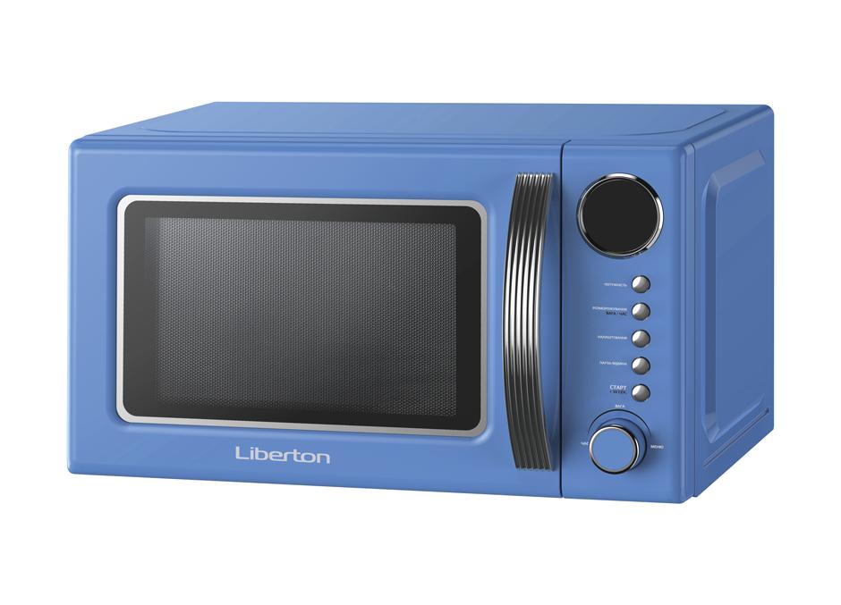 Микроволновка печь Liberton LMW-2083E Blue