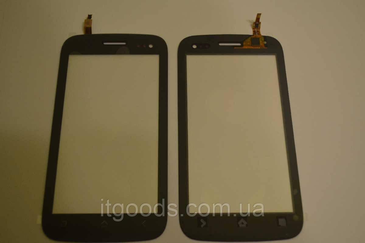Оригинальный тачскрин / сенсор (сенсорное стекло) для Fly IQ450 Horizon (черный цвет) + СКОТЧ В ПОДАРОК