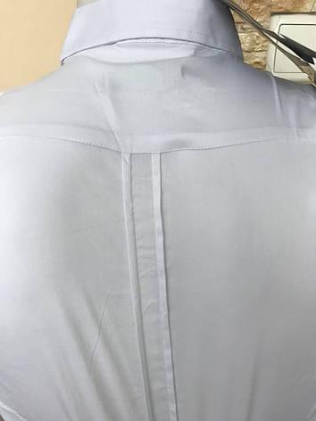 Рубашка с длинным рукавом Black Stone белая, фото 2