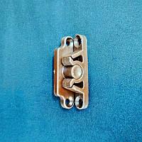 Фиксатор ТЕРМОПЛАСТ для дверной москитной сетки из профиля 17*25 мм (коричневый)