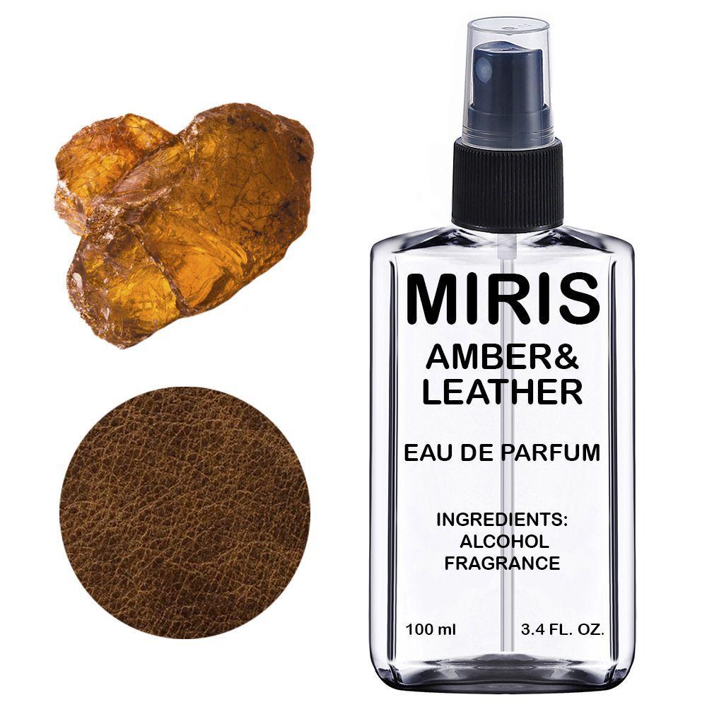 Духи MIRIS Amber & Leather (Аромат Амбры и Кожи) Унисекс 100 ml