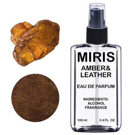 Духи MIRIS Amber & Leather (Аромат Амбры и Кожи) Унисекс 100 ml, фото 2