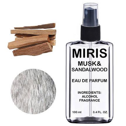 Духи MIRIS Musk & Sandalwood (Аромат Мускусу й Сандалу) Унісекс 100 ml, фото 2