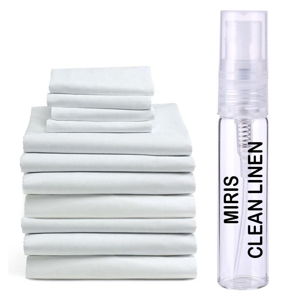 Пробник Духов MIRIS Clean Linen (Аромат Чистого Белья) Унисекс 3 ml