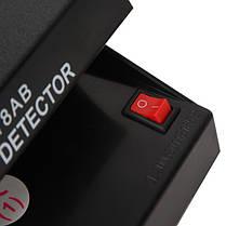 Ультрафиолетовый детектор валют AD 118AB от сети 220В и от батареек | Money detector, фото 3