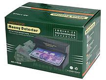 Ультрафиолетовый детектор валют AD 118AB от сети 220В и от батареек | Money detector, фото 2