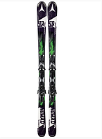 Горные лыжи Atomic BLACKEYE ARC-L black/green & XTO 12 (MD)