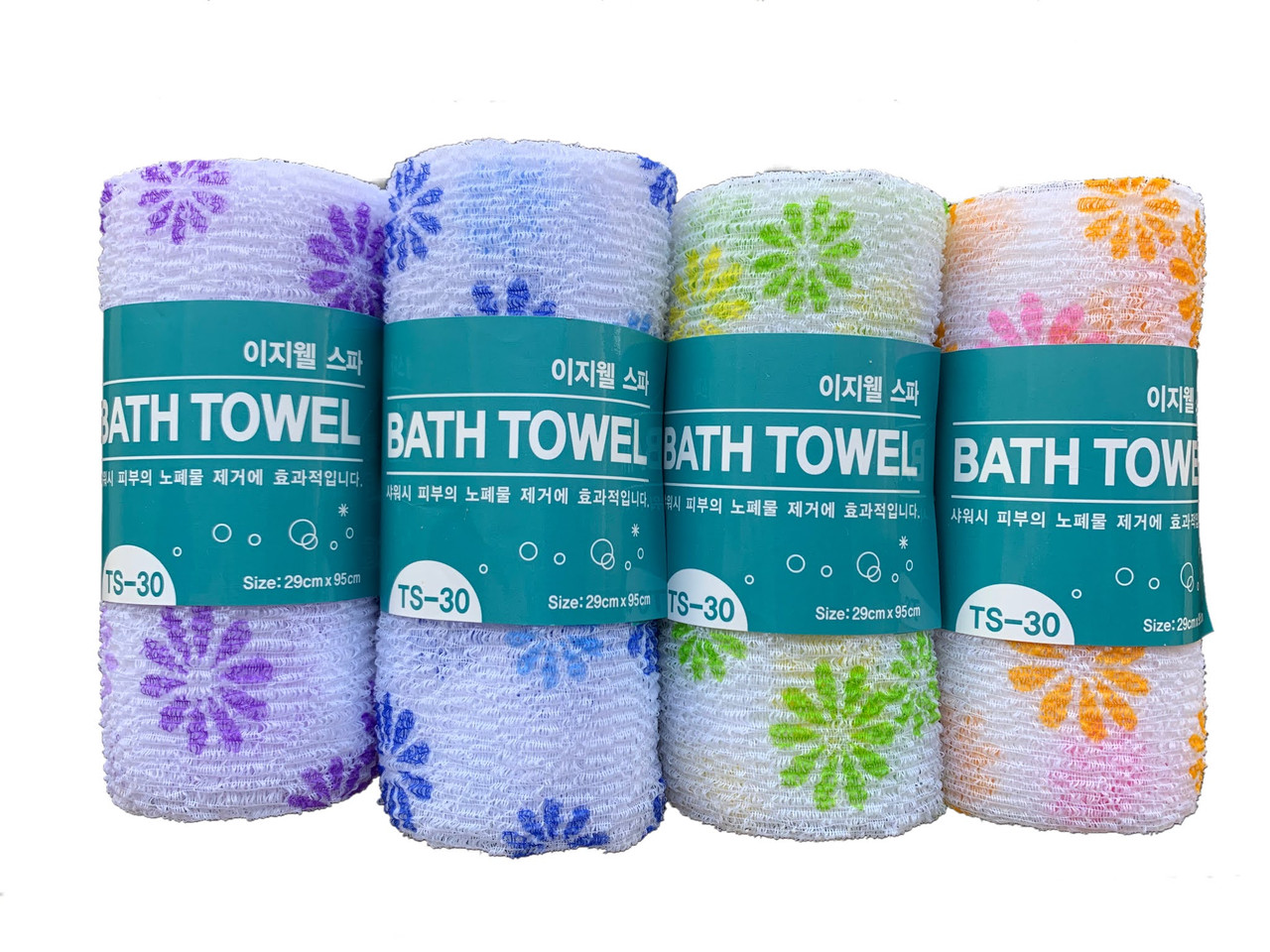 Пилинговая мочалка-полотенце для душа Tamina Easy-Well TS-30 Shower towel