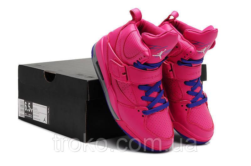 Кроссовки женские Air Jordan 4.5 Flight Pink - TROKO-обувь,аксессуары,парфюмерия. в Харькове