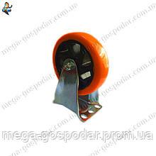 Колесо-неповоротное полиуретановое D-100мм