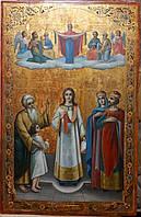 Икона Покров Пресвятой Богородицы 19 век