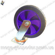 Колесо-поворотное с кронштейном D-200мм