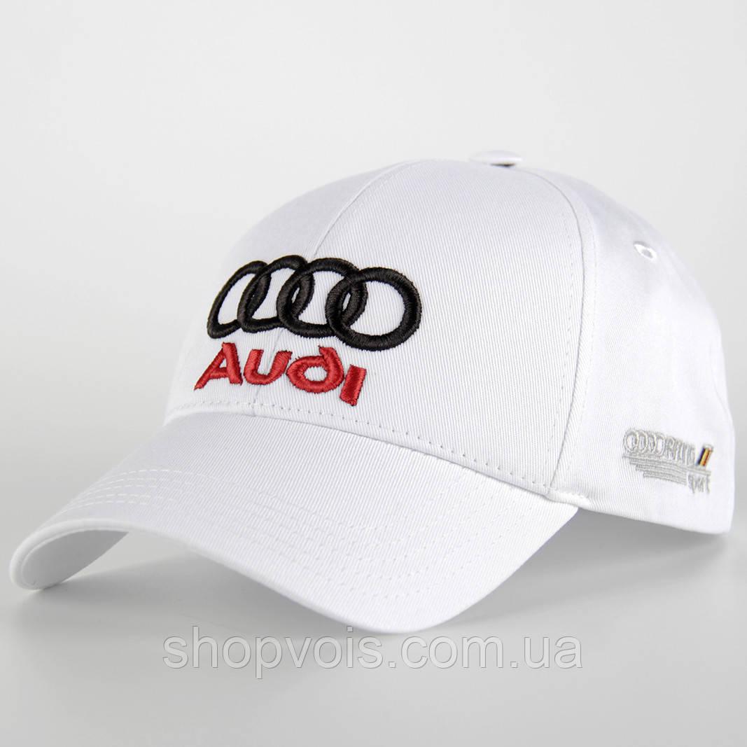 Кепка Audi А227 Белая