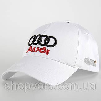 Кепка Audi А227 Белая, фото 2