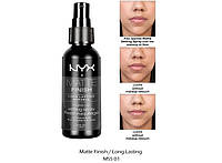 Спрей для фиксации макияжа NYX Matte Finish Long Lasting Setting Spray