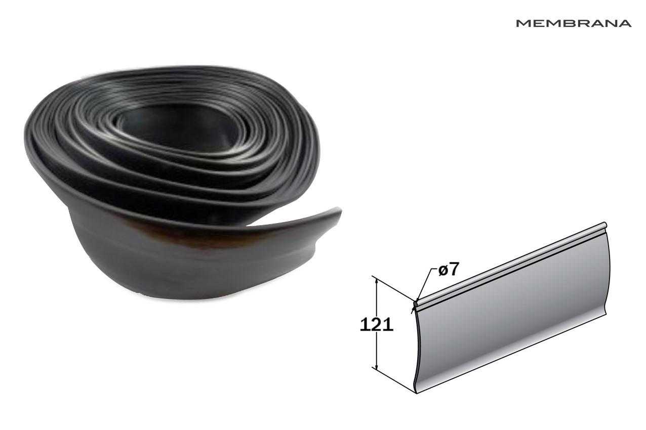Ущільнювач бічної штори тенту 121 мм